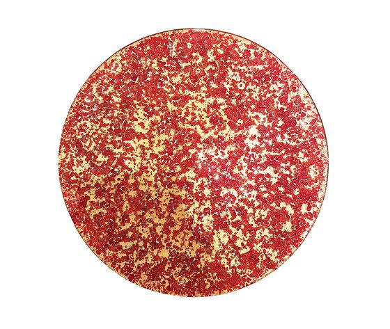 Piatto oro rosso web