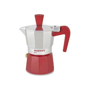 Caffettiera Nina 3 tazze rossa