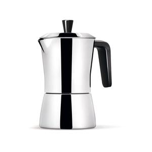 CAFFETTIERA TUA 3/1 TAZZE INOX