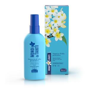 HELAN -MONOÏ de TAHITI - Il sole nei Capelli- Impacco d'Olio Protettivo Spray SPF6 100 ml