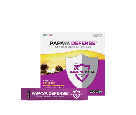 Zuccari papaya biofermentata prodotto papaya defense