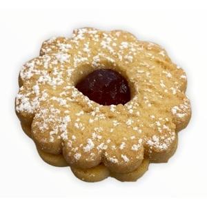 Biscotti Occhi di bue marmellata ciliegie