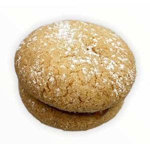 Biscotti Bacio di dama albicocca