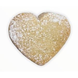 Biscotti Cuoricini con gocce cioccolato