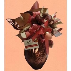 Uovo di Pasqua Cioccolato Fondente 500g