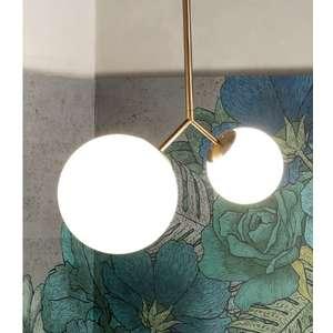 Lampada sospensione in ottone