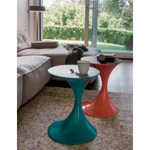 Tavolino base in metallo laccata