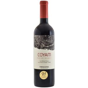Emiliana - Coyam Organic Wine Los Robles Estate Valle de Colchagua Chile Rosso 2018 cl 75
