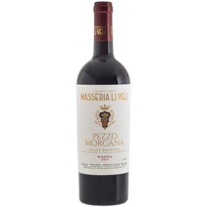Masseria Li Veli - Pezzo Morgana Salice Salentino Riserva DOC Rosso 2017 75cl