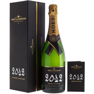 Moët & Chandon - Champagne 2012 Grand Vintage Extra Brut (Cofanetto) 75cl
