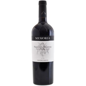 Produttori di Manduria  - Memoria Primitivo di Manduria Salento DOC Rosso 2019 75cl