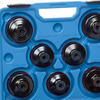 Set 15 pz chiavi per filtri olio art. 0018 15