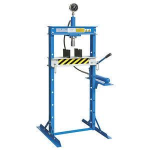 Pressa manuale idraulica