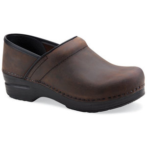 Dansko Professional Antique Brown Oiled. Marrone invecchiato