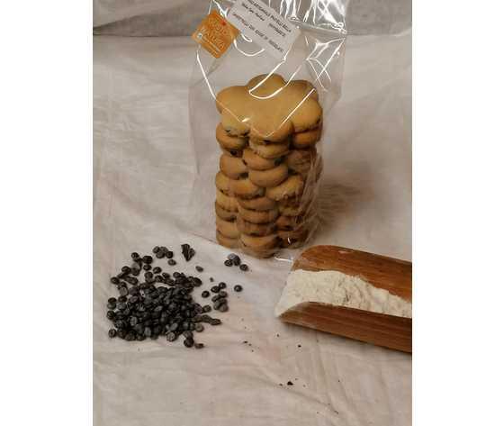 Canestrelli gocce cioccolato