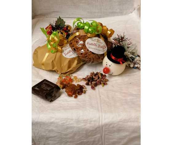 Pandolce pistacchio e cioccolato e canditi