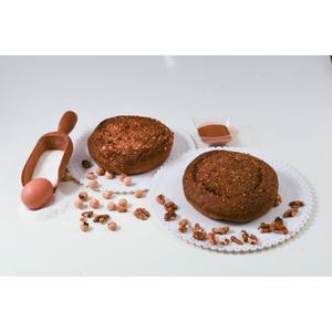 Torta di noci, nocciole e  cioccolato