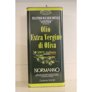 LATTINA OLIO EVO NORMANNO 5LT