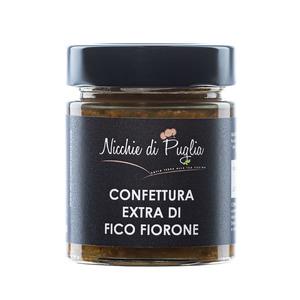 CONFETTURA EXTRA DI FICO FIORONE 150gr- solo con frutta e zucchero prodotta da agricoltura biologica