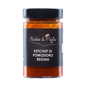 KETCHUP DI POMODORO REGINA 180gr salsa artigianale prodotto da agricoltura biologica