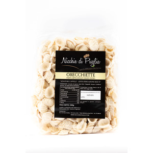 ORECCHIETTE 500gr- pasta artigianale- Senatore Cappelli-grano antico