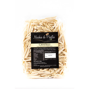 CAVATELLI SENATORE CAPPELLI 500gr- pasta artigianale da agricoltura biologica