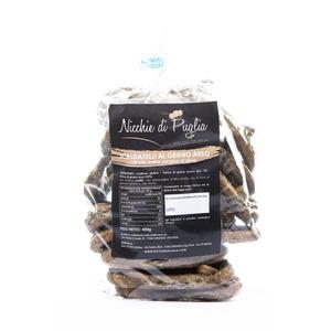 SCALDATELLI AL GRANO ARSO 400GR- taralli artigianali fatti a mano con olio extra vergine d'oliva