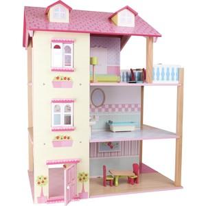 Casa delle bambole Tetto rosa