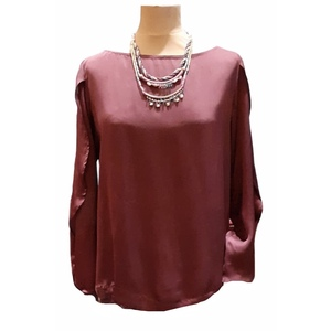 Blusa chic e etnica in bamboo, un vero ecofashion