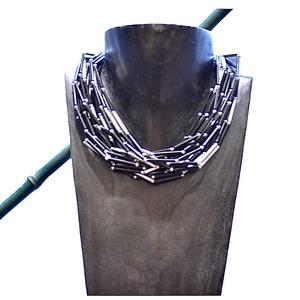 Collana girocollo multifili etnochc