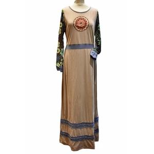 Vestito lungo etnico