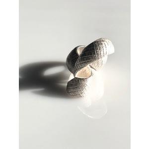 GIOIELLI D'ARTE, handmade, creazione d'arte in argento, ANELLO SHELL