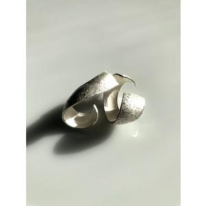 GIOIELLI D'ARTE, orecchini SHELL, handmade, creazione d'arte in argento