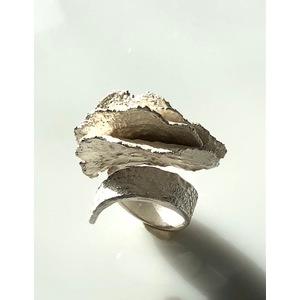 GIOIELLI D'ARTE, handmade, creazione d'arte in argento, ANELLO LACY