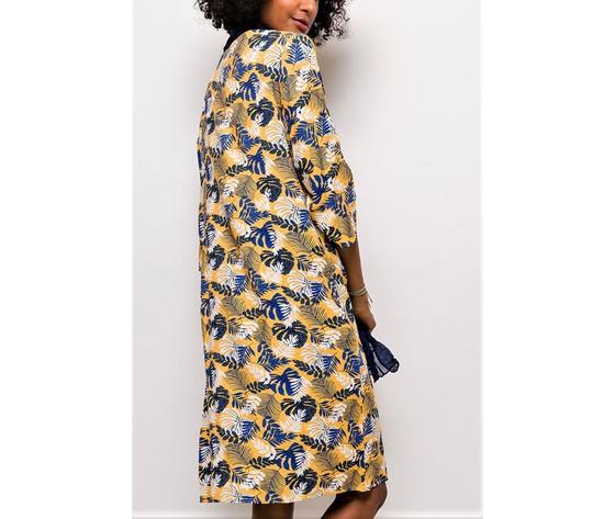 For her paris robe imprimee105 yellow 2