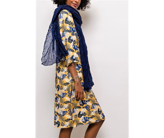 For her paris robe imprimee105 yellow 3