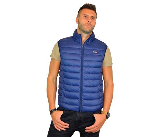 Scuola nautica italiana giacca uomo smanicato 919951 blu principale