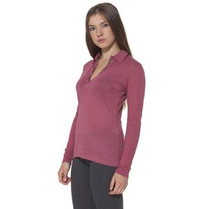 FRED PERRY POLO MANICHE LUNGHE Donna