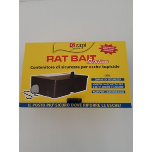 CONTENITORE ESCHE RAT BAT STATION