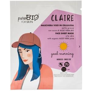 Maschera Viso Claire Good Morning puroBIO for Skin