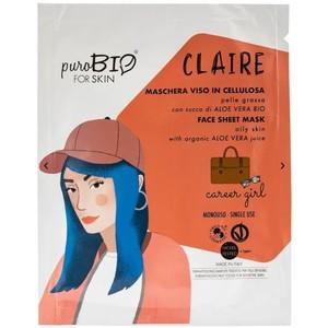 Maschera Viso Claire Career Girl puroBIO for Skin