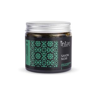 Savon Noir con olio essenziale di eucalipto