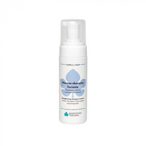 Mousse-shampoo lisciante Disciplinante, con uva e melograno bio toscani