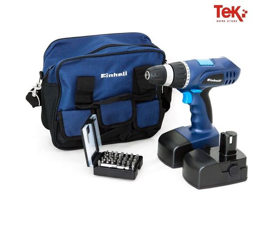 BT-CD 18 Trapano avvitatore e Kit Einhell