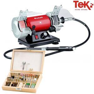 Th-Xg 75 Kit Smerigliatrice Mola Da Banco Einhell