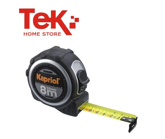 Flessometro rubber 8 Metri Kapriol Mod. 24559