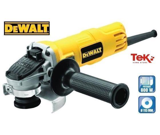 Smerigliatrice Compatta 115mm 800 W DWE4050-QS DEWALT