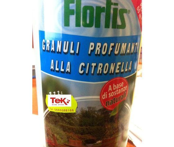 Granuli Profumanti Alla Citronella Flortis Da Ml1000