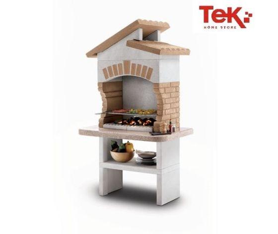 Barbecue in muratura Palazzetti mod TUPAI 110x77x196 cm