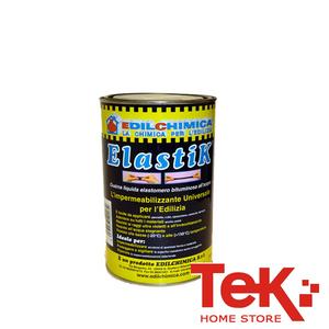 Impermeabilizzante Liquido Elastico in Barattolo Kg 1,2 Elastik